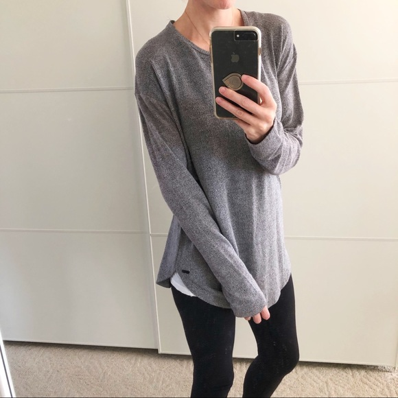 ROOTS Grey Long Sleeve Tee